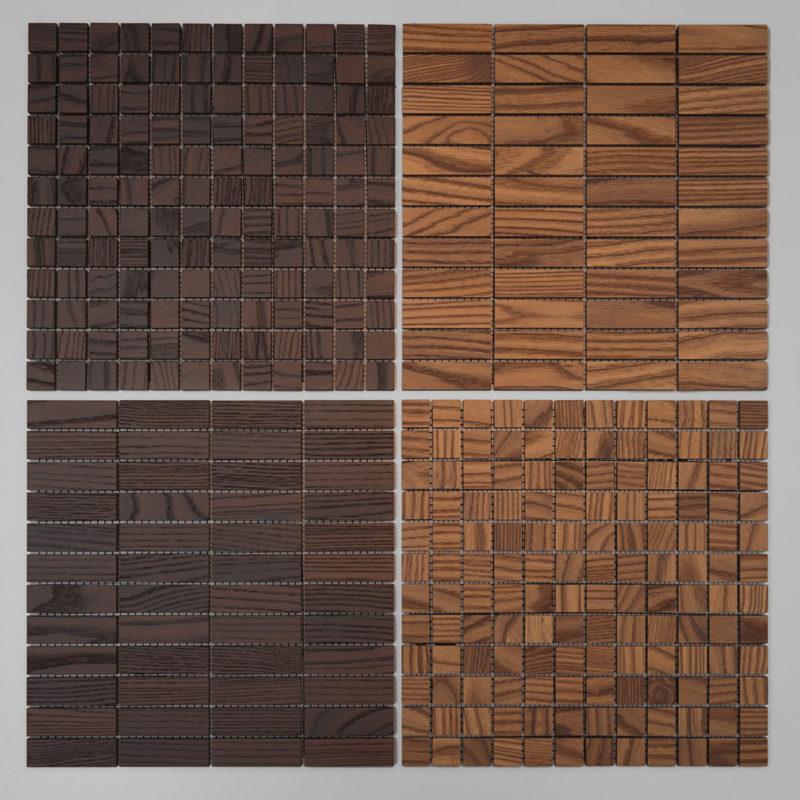 Dekor mozaik csempe, Intense / Medium, 23x23mm / 23x73mm