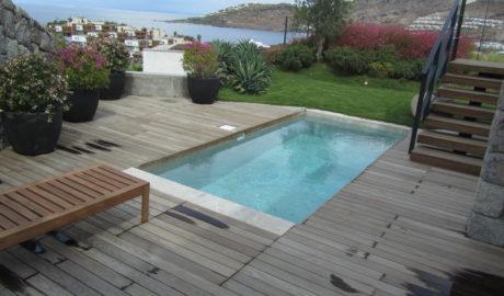 Thermory Kőris teraszburkolat 20x95mm (profil D11 sg). Beach residence, Törökország