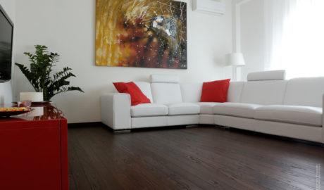 Thermory Kőris intense módosított szilárd padlóburkolat Tango 15x130mm (csiszolt). Olaszország